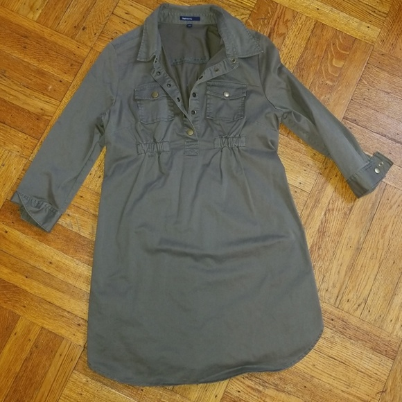 GAP Dresses & Skirts - NWOT GAP utility shirt dress